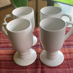 Other - Coffee/Cappuccino White Mugs 8oz NWOT